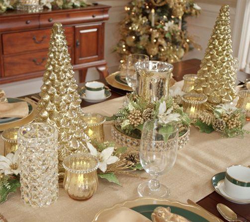 Mercury Glass Kaleidoscope Light Show 16 Tree By Valerie Qvc Com Valerie Parr Hill Christmas Christmas Centerpieces Mercury Glass