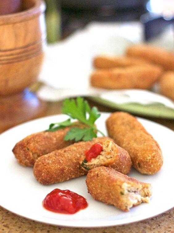 Leftover Turkey Croquettes | Bits of Umami