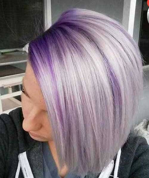 Unique Hair Color Ideas For Bob Haircut Hairstyle Fix Blonde Ombre Short Hair Lavender Hair Blonde Hair With Roots