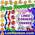 Paper Crafts: Embroidery on Paper    Paper embroidery is a vintage needlework craft that's become popular again.  Free borders, frames, dividers clip art