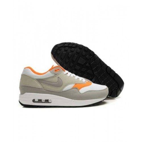 Intensivo término análogo Cien años  Save Up 60% To Nike Air Max 1 - Cheap Nike Air Max 1 Mens Grey White Total  Orange Online Store in 2020 | Nike air max, Cheap nike air max, Cheap nike  running shoes