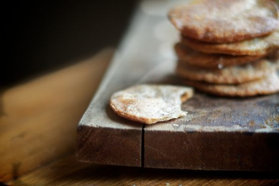 The BEST homemade crackers (the trick is to soak the flour in yogurt!)