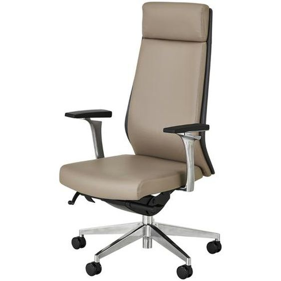 Chefsessel Schede Grau Stuhle Burostuhle Chefsessel Hoffner Grauer Stuhl Sessel Stuhle