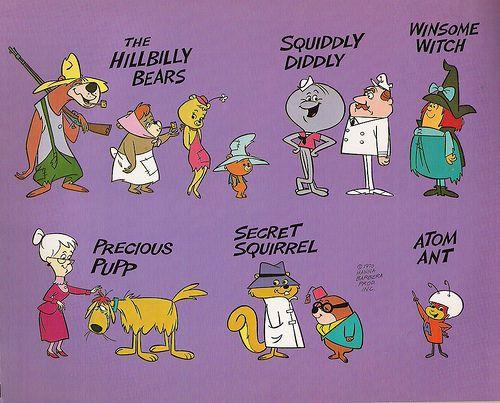 Hanna-Barbera - Atom Ant/Secret Squirrel, 1965                                                                                                                                                     More
