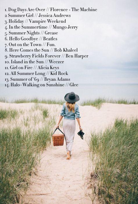 A Best of Summer Playlist