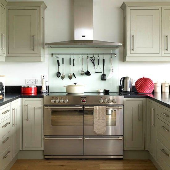 Contemporary open-plan kitchen makeover   Be inspired by this contemporary open-plan kitchen   housetohome.co.uk   Mobile