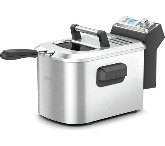 SAGE by Heston Blumenthal BDF500UK Smart Deep Fryer - Silver