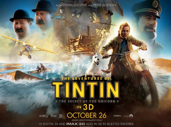 adventures tintin 720p  movie