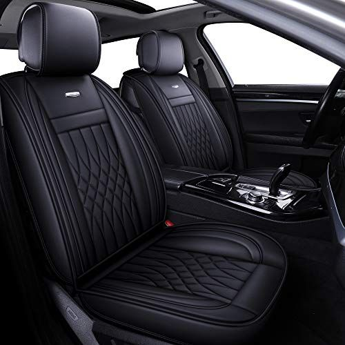 BMW BLACK WATERPROOF CAR SEAT COVERS FULL SET 1 2 3 4 Series