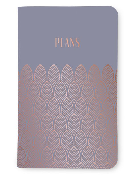 May Designs celebrates the trends of Art Deco and mixing metallics in a beautiful new notebook collection. These foil-pressed May Book covers come in silver, gold and rose gold. Fill them with an agenda, planner, adult coloring book or any our other customized inside page options!