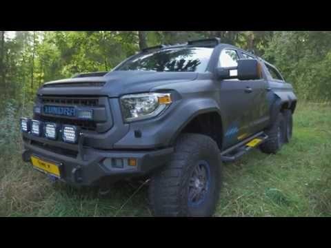 Toyota Tundra Hercules 6x6 Youtube
