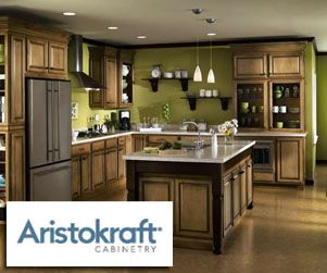 Kitchen paint colors with oak cabinets aristokraft for Aristokraft oak kitchen cabinets