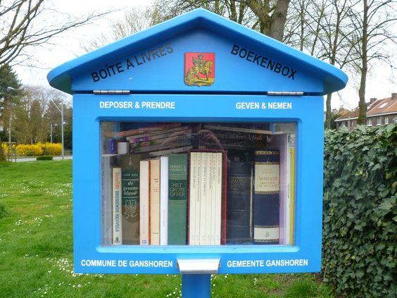 Boîte à livres Ganshoren