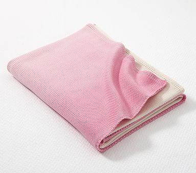 Ombre Stroller Blanket, Pink