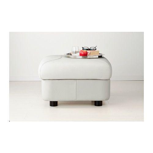 TIMSFORS Footstool - Mjuk/Kimstad off-white - IKEA