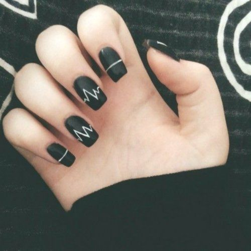 19 Acrylic Nails Matte Dark Winter Nail Colors Are Special Just