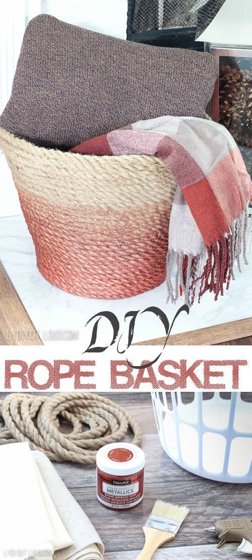 87ab63cdfd26507a93b83df3011df7e4 - Better Homes And Gardens Chunky Rope Basket
