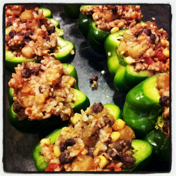 Breakfast Ideas Daniel Fast: [DANIEL FAST] Savory Stuffed Peppers & Soup