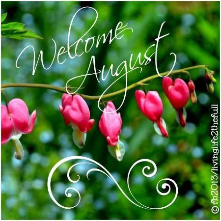 Happy August!!!!  August 9th is a special day.: