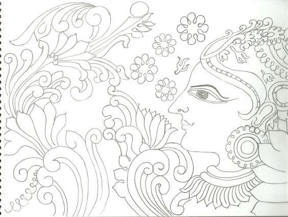 VarnaVismayam.: Few More drawings..