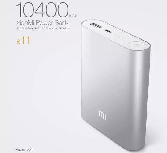 XiaoMi lancia una batteria esterna da 10.400 mAh – Tutto Android