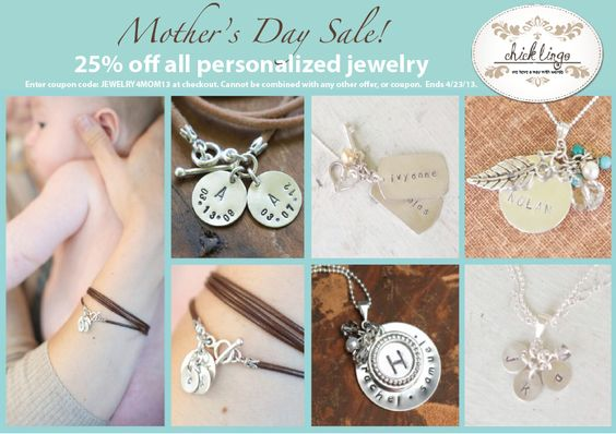 Chick Lingo - Mommy Necklaces and Bracelets! ALL hand-stamped, personailzed jewelry <3  https://www.chicklingosigns.com/products/jewelry/page/1/