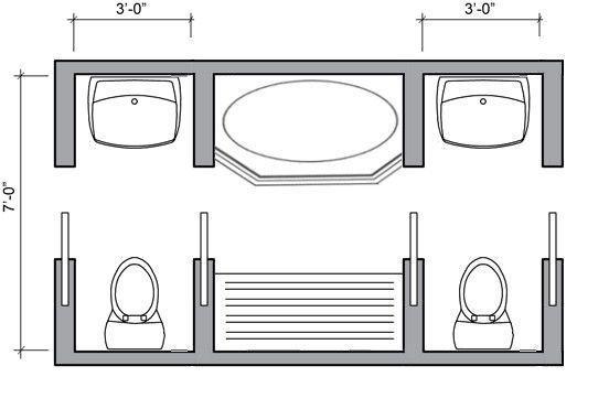 19 Awe Inspiring Bathroom Remodel Wood Ideas In 2020 Bathroom Floor Plans Jack And Jill Bathroom Bathroom Plans