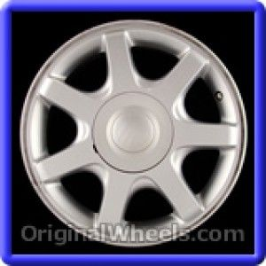 Ford Taurus 2000 Wheels & Rims Hollander #3360B  #FordTaurus #Ford #Taurus #2000 #Wheels #Rims #Stock #Factory #Original #OEM #OE #Steel #Alloy #Used