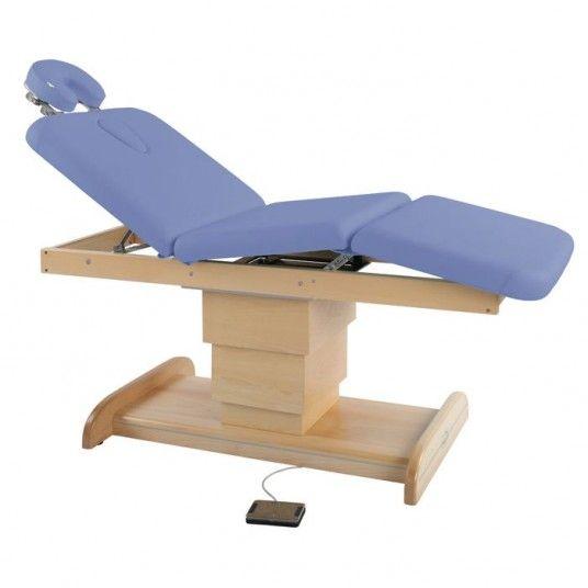 Table De Massage Electrique A Pietement Central Ecopostural C6203 Table De Massage Table Massage