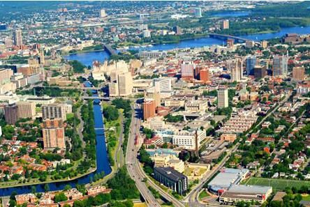 Aerial Pic of University of Ottawa