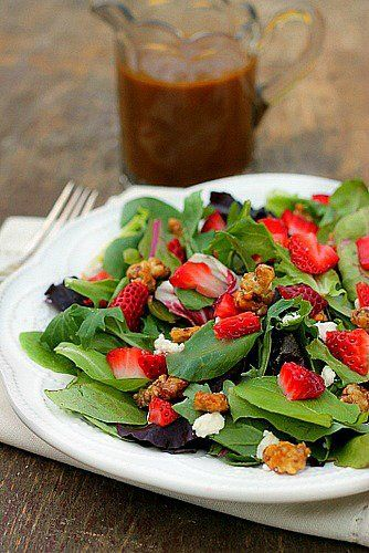 Feta salad, Vinaigrette and Feta on Pinterest