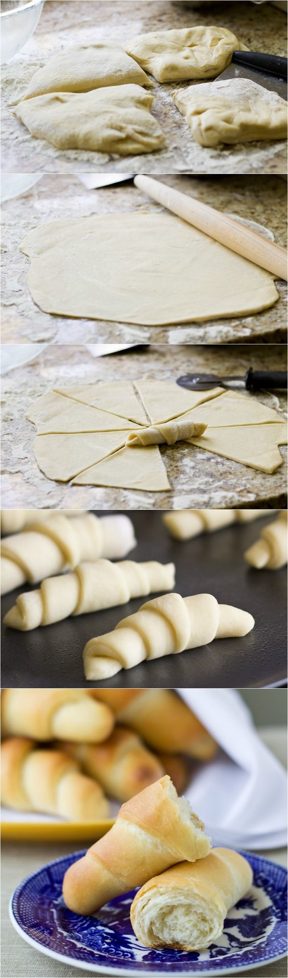 Grandma's Homemade Crescent Rolls - These are far beyond anything you can pop out of a can!