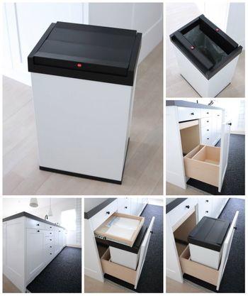 ゴミ箱 キッチン ドイツ ハイロ 堅牢 シンプル