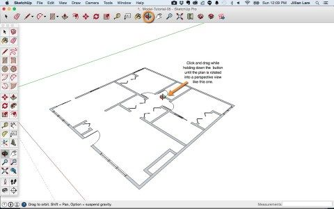 Pin By Ismael On Tutorial Sketchup Floor Plans How To Plan