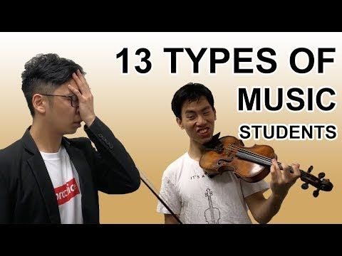 13 Types Of Beginner Music Students Youtube Music Student Music Types Of Music