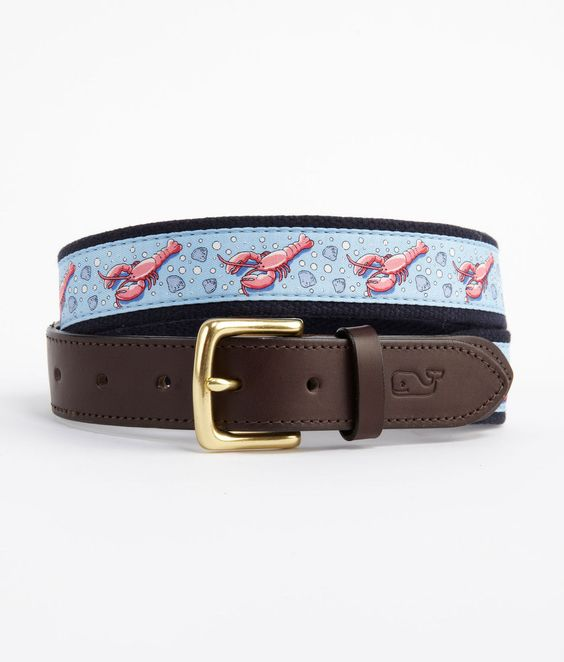 Lobster Canvas Club Belt