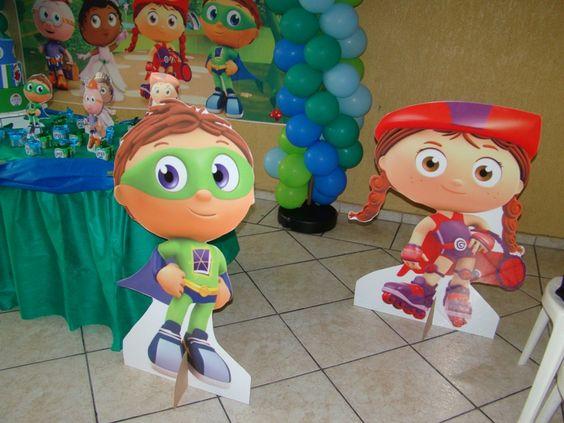 Lu Felisbino Festas Afetivas: Festa do Super Why!