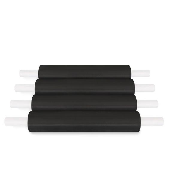 (8 Rolls) Pallet Stretch Wrap Handwrap 20 In 1000 Ft 80 Gauge (20 In x 1000 Ft x 80 Ga, )