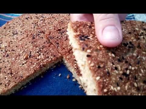 خبز الشعير الصحي يحضر في 5دقائق بطريقة سهلة و ذوق رائع Youtube Cooking Food Desserts