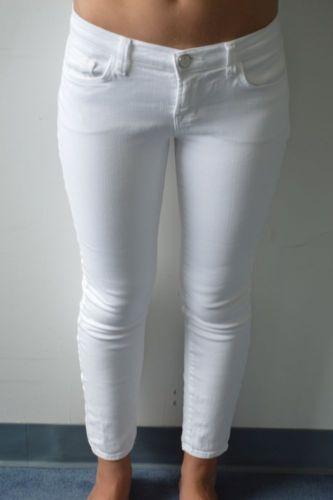 J Brand SNOW CAPRI white skinny jeans AMAZING CONDITION   Denim