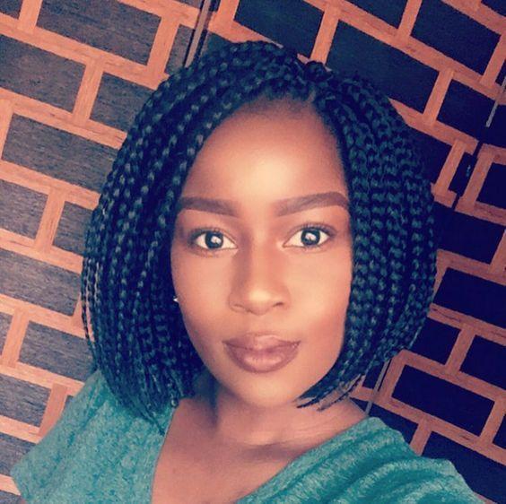 18+ Braided bob hairstyles 2019 ideas