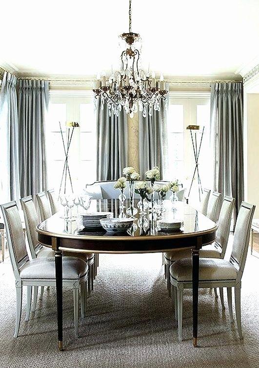 Formal Dining Room Curtains Best Of Dining Room Drapes Ruang Makan Formal Ide Dekorasi Rumah Interior Rumah