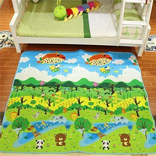 Fani Play Mat Baby Day Cares Foam Floor Gym Playmat Waterproof Amp Reversible Magical Forest Large Mats Baby Play Mat Toddler Play Baby Gym Mat
