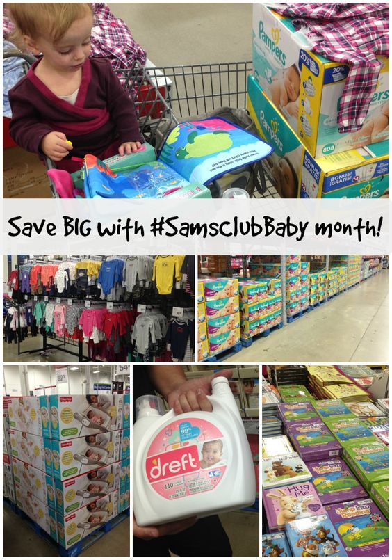 Save big with #SamsClubBaby month! Check out our baby #finds and enter to win a $50 gift card!