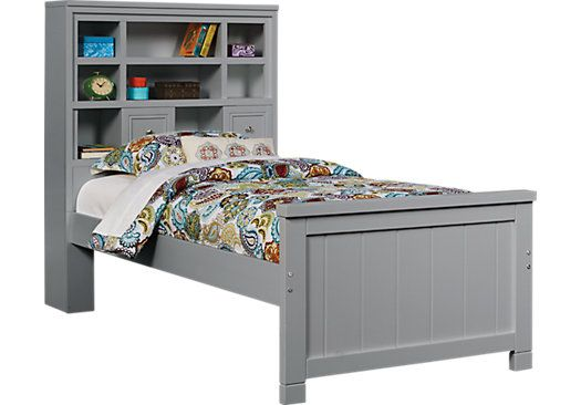 Cottage Colors Twin Bookcase Bed