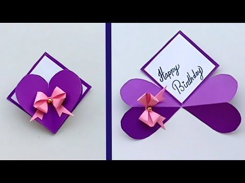 How To Make Special Birthday Card For Best Friend Diy Gift Idea Youtube Diy Gifts For Friends Special Birthday Cards Birthday Cards