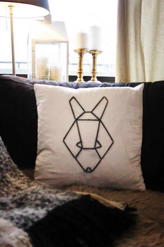 Wohnvorstellungen - Einrichtungsideen für alle: Kissen DIY