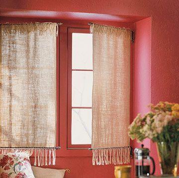 Diy Kitchen Window Treatments Window Frames Linens And Window Treatments