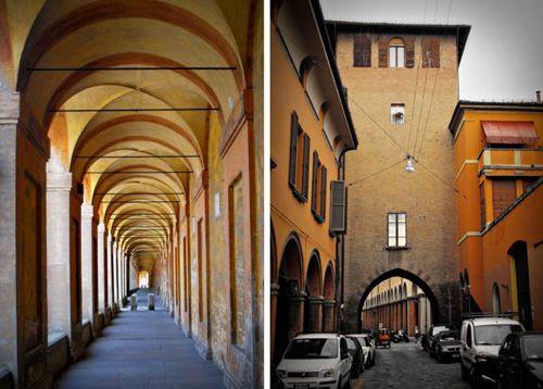 San Luca torre-porta castiglione, Bologna, Italy