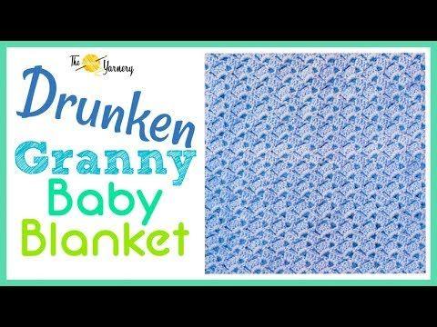 drunken granny crochet baby blanket